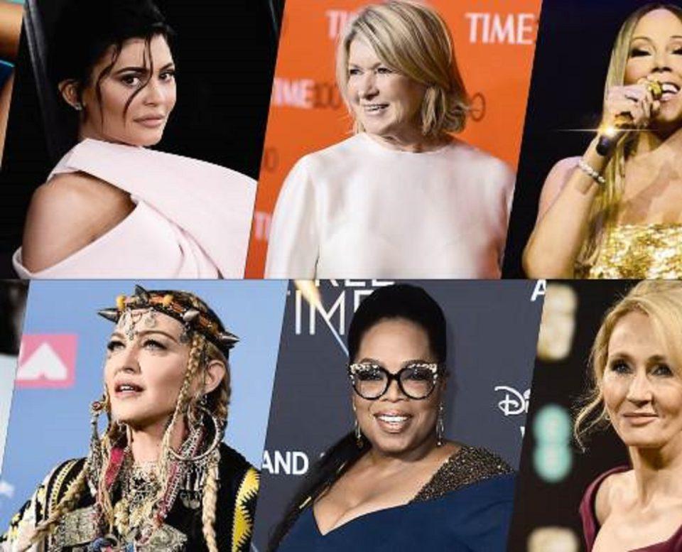 50 Most Popular Women